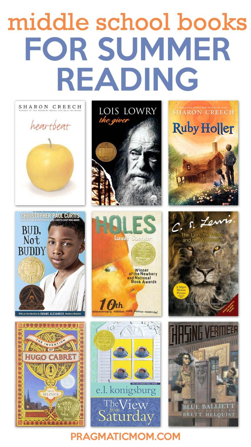 Best Middle School Books for Summer Reading