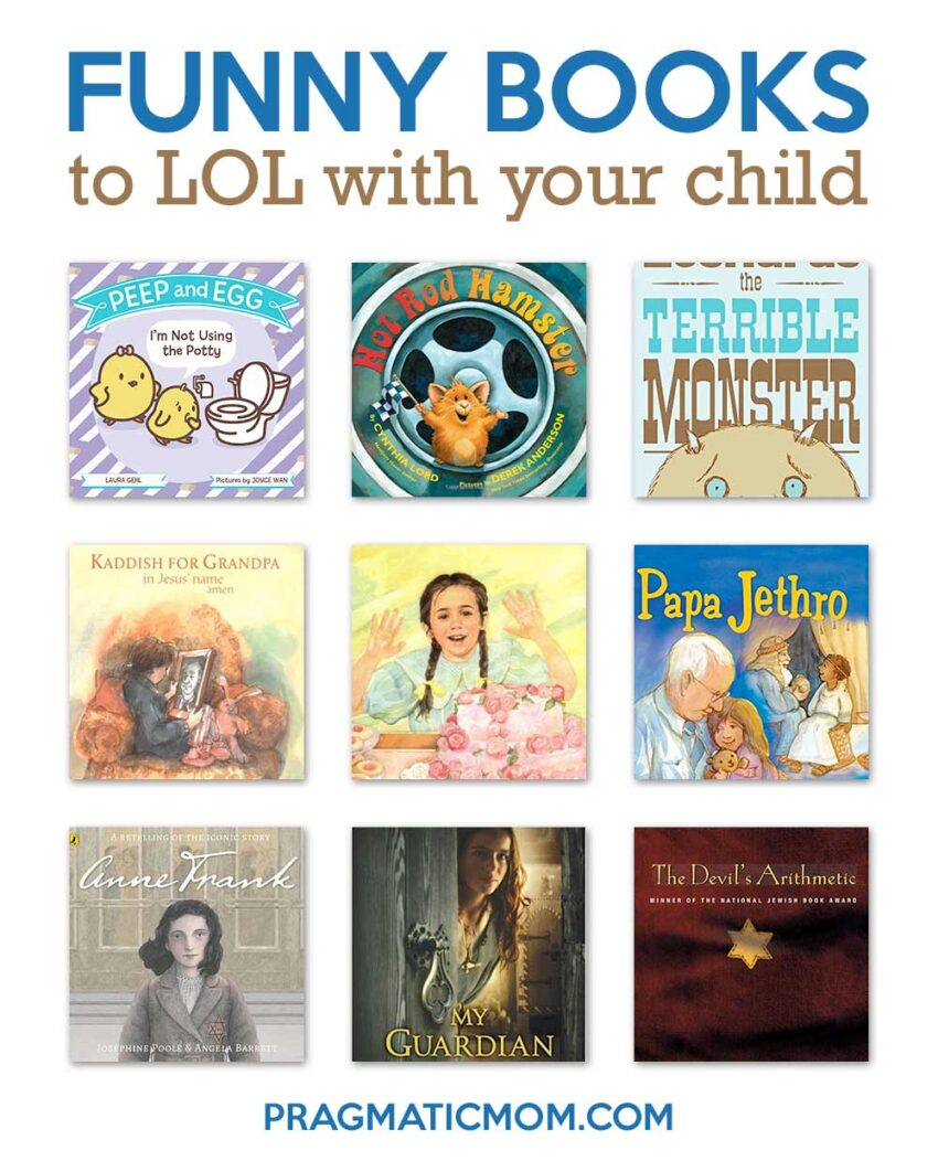 Funny Books to LOL with Your Child