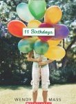 11 Birthdays, chapter books, middle grade chapter books,