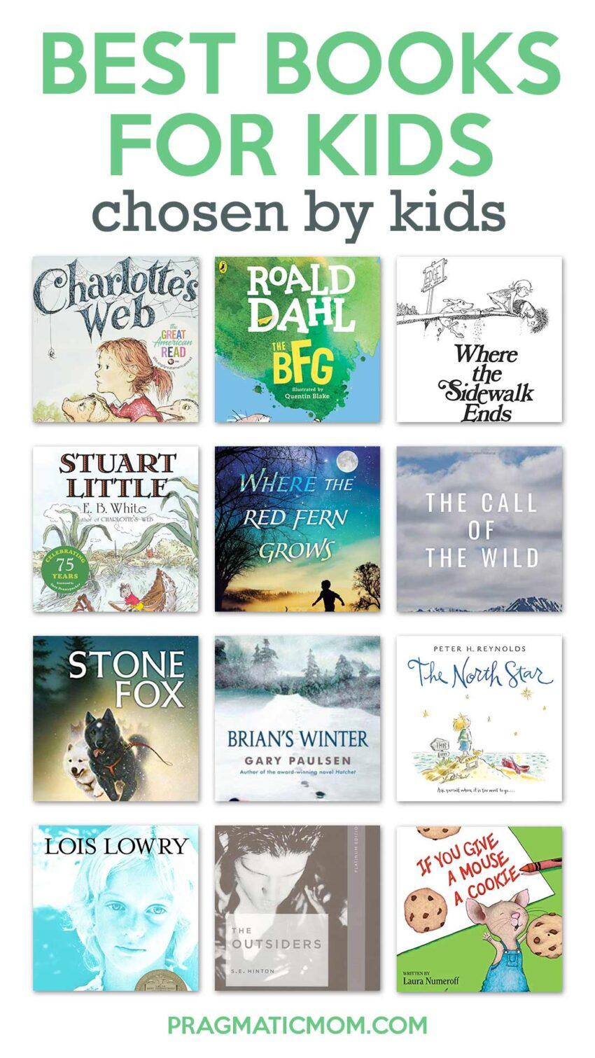 Best Books for Kids Chosen by Kids