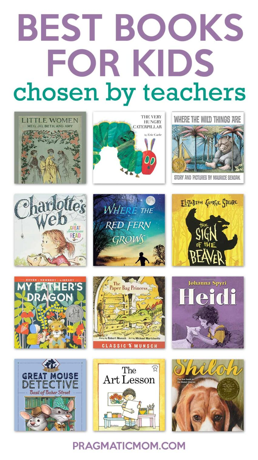 Best Books for Kids Selected by Teachers