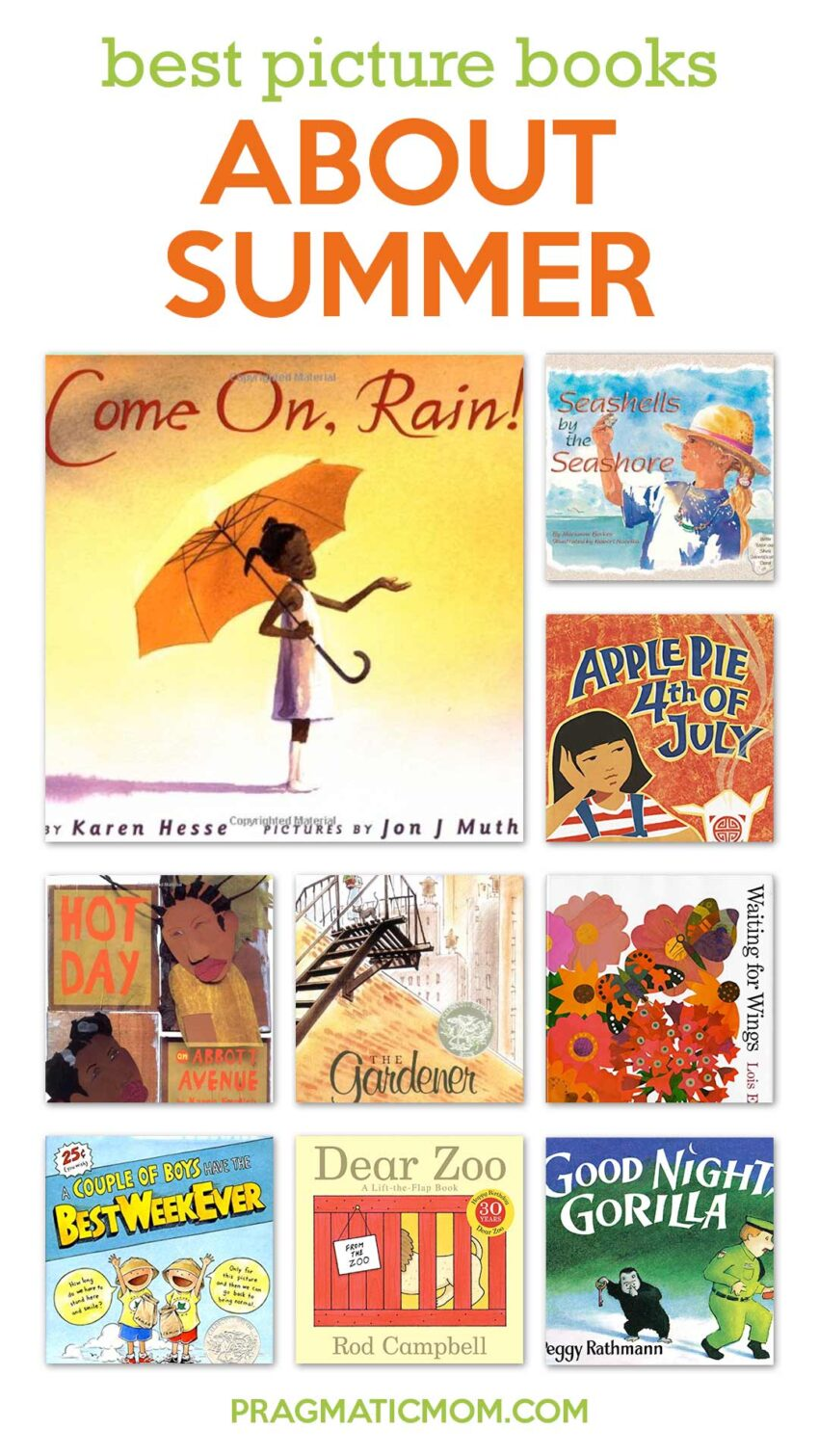 Best Picture Books About Summer