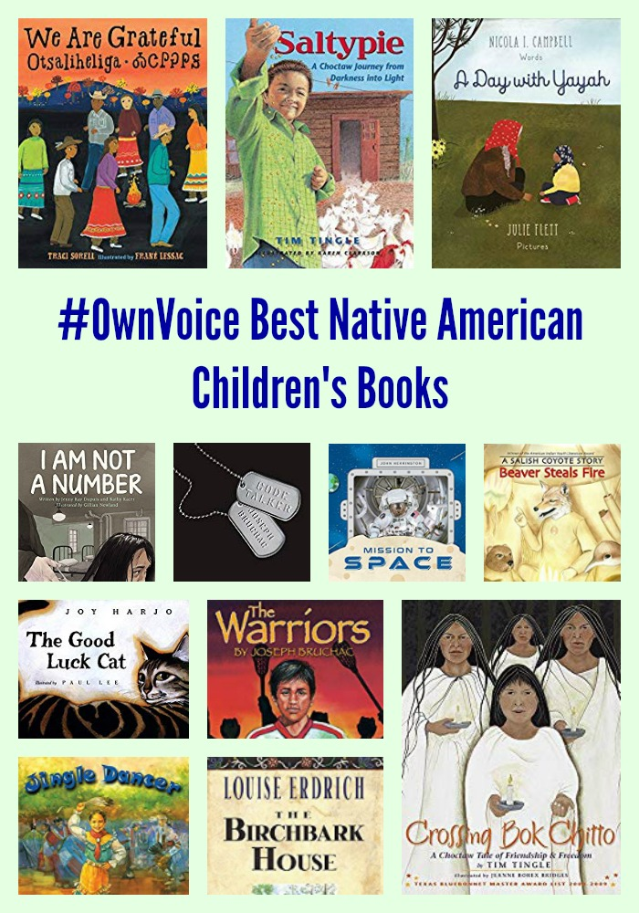 #OwnVoice Best Native American Children's Books