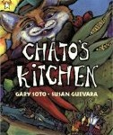 Chato's Kitchen, Gary Soto, East LA, cholo picture book, http://PragmaticMom.com, Pragmatic Mom, latin american children's literature
