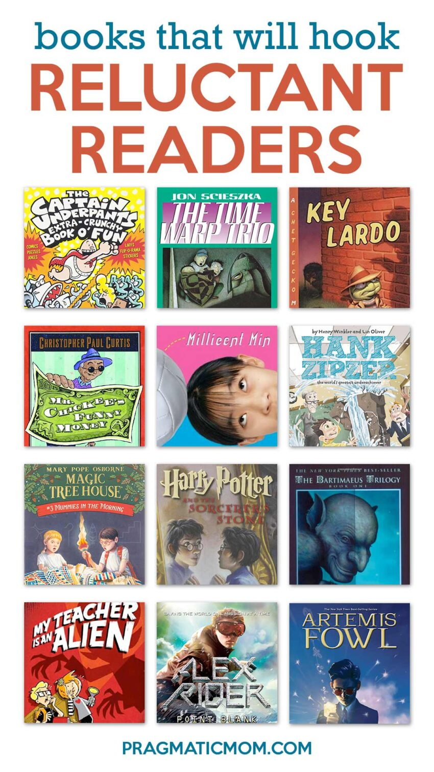 Books That Will Hook Reluctant Readers