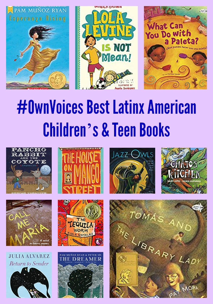 OwnVoices Best Latinx American Childrens Teen Books