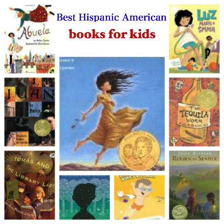 National Hispanic Heritage Month books for kids, best Latino American books for kids, Best Hispanic American books for kids,