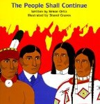 The People Shall Continue, Simon Ortiz, best native american children's books for middle school, http://PragmaticMom.com, Pragmatic Mom