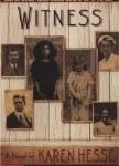 Witness, Karen Hesse, poetry novels for kids, http://PragmaticMom.com, PragmaticMom, Pragmatic Mom