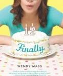 Finally, Wendy Mass, books for girls ages 8-12, Pragmatic Mom, http://PragmaticMom.com