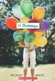 11 Birthdays, Wendy Mass, Massachusetts Book Award, http://PragmaticMom.com, Pragmatic Mom, groundhog day book, PragmaticMom