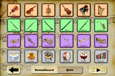 sounds of the instrument ipad app, http://PragmaticMom.com, PragmaticMom