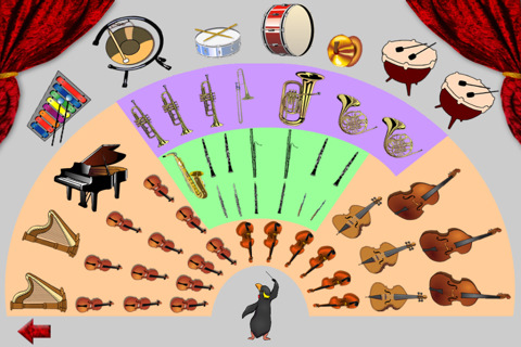 sounds of the orchestra, where orchestra instruments sit, http://PragmaticMom.com, Pragmatic Mom