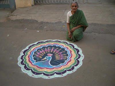rangoli designs, alpanas, rickshaw girl, http://PragmaticMom.com, Pragmatic Mom