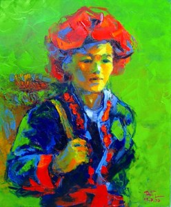 vietnamese lacquer painting, http://pragamticmom.com, teach me tuesday