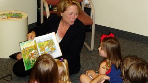 Tsongas, Read Out and Read, caught in the act of reading, http://PragmaticMom.com