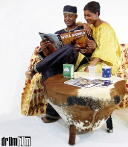 african drum table, http://PragmaticMom.com, pragmaticmom