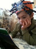 Caught in the Act ... Of Reading, PragmaticMom, http://PragmaticMom.com