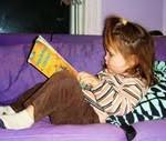 caught in the act of reading, http://PragmaticMom.com, Pragmatc Mom
