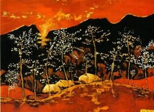 teach me tuesday vietnam, vietnamese lacquer painting, http://PragmaticMom.com, pragmatic mom