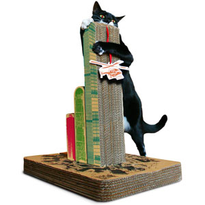 cat scratching post, 12 days of shopping, pragmaticmom.com