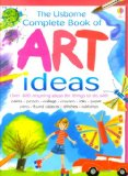 Fiona Watt, The Usborne Complete Book of Art Ideas, best books to teach kids children art how to be an artist, pragmatic mom, pragmaticmom.com