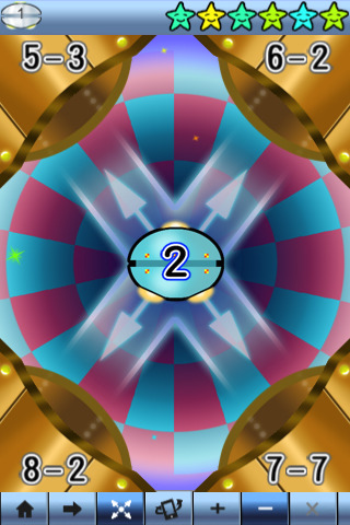 Math A+ for iPhone iPad Pragmatic Mom math games for kids children