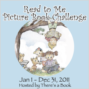 There's a Book, Read to Me Picture Book Challenge, Pragmatic Mom