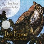 Dark Emperor Poetry Pragmatic Mom PragmaticMom Newbery