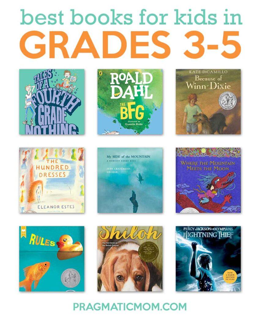 Best Books for Grades 3-5