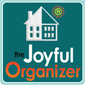 The Joyful Organizer, kids art work and organizing,