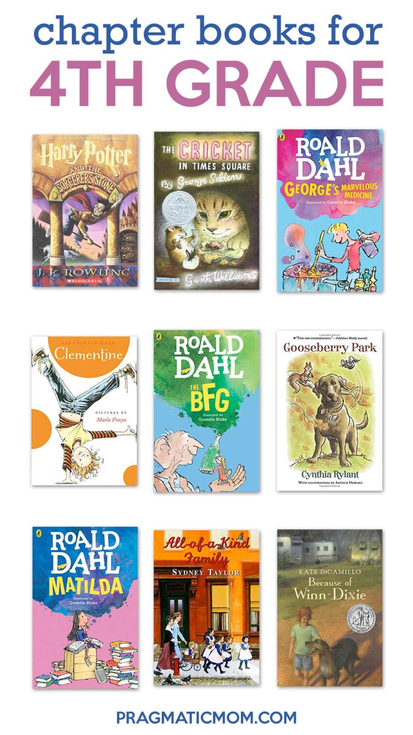 Best Books for 4th Grade