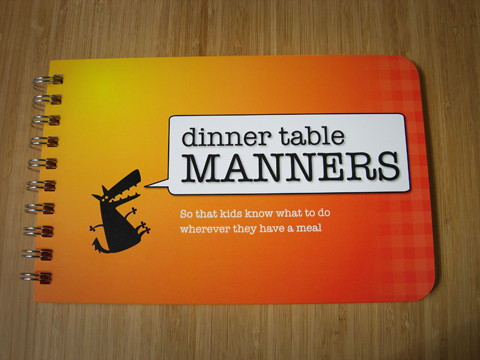 table manners for kids, papersalt