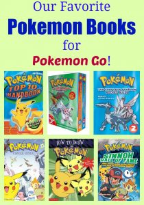 Our favorite Pokemon Books for playing Pokemon Go