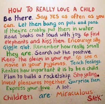 Sark, How to Really Love a Child,