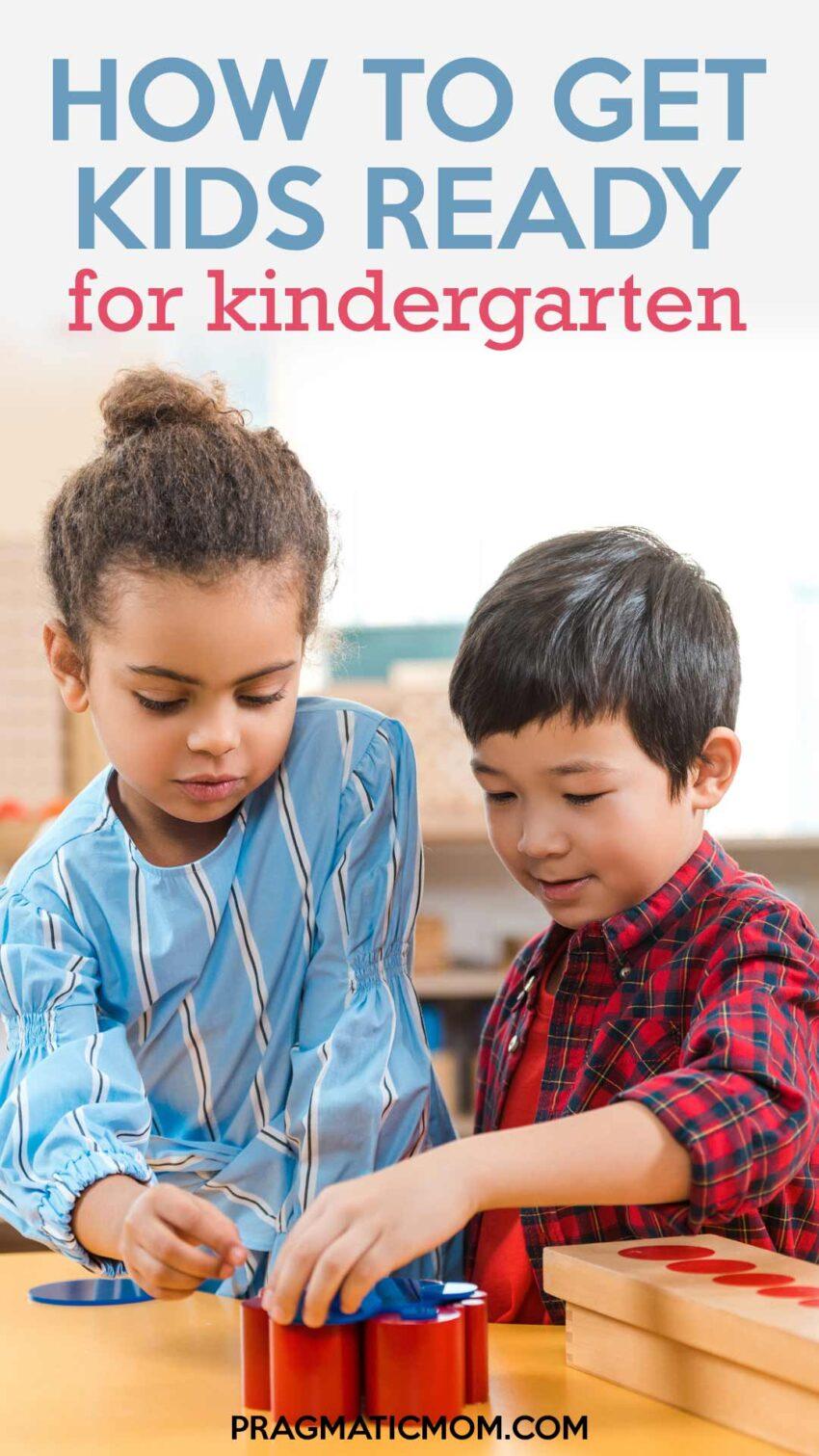 How to Get Kids Ready for Kindergarten