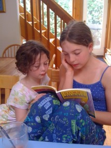 Caught in the act of reading PragmaticMom Pragmatic Mom Erica Perl