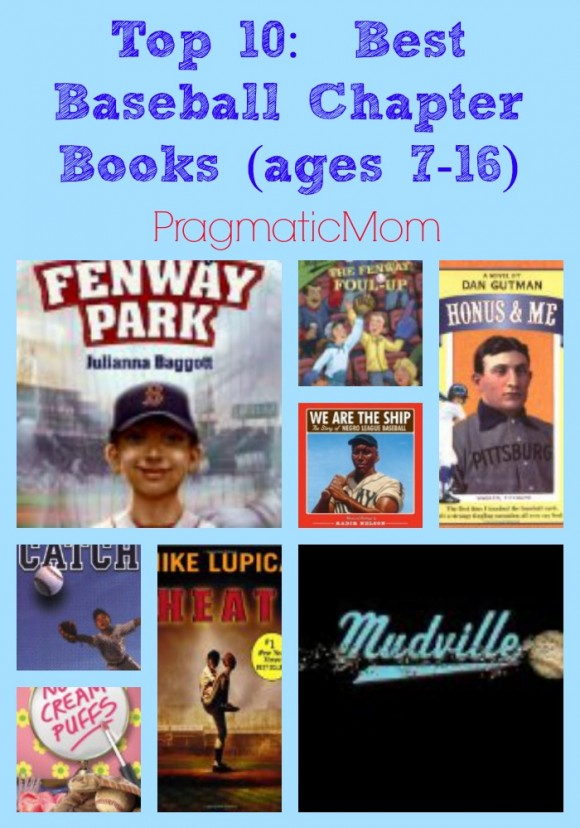 best baseball chapter books for kids