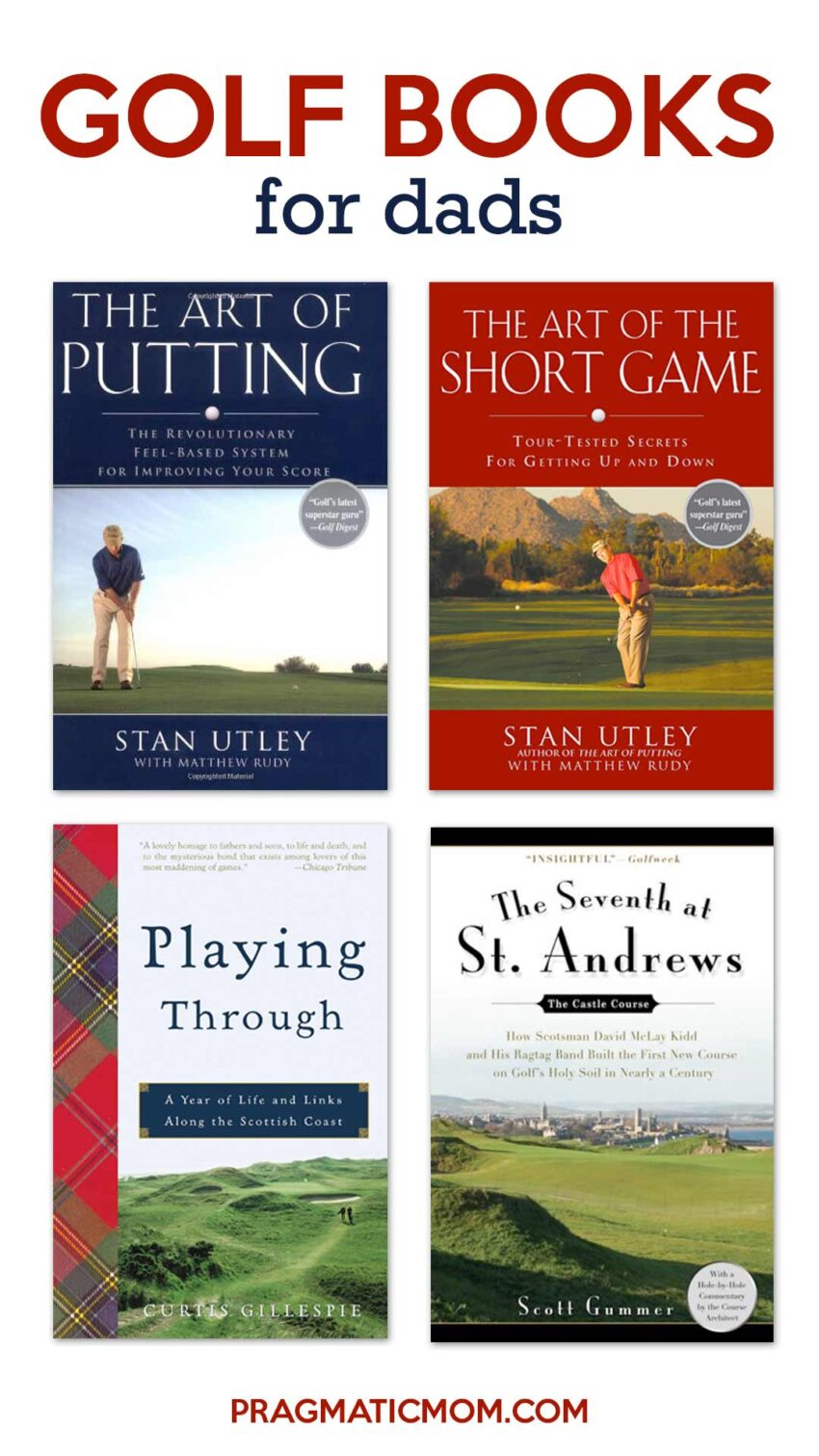 Best Golf Books for Dads