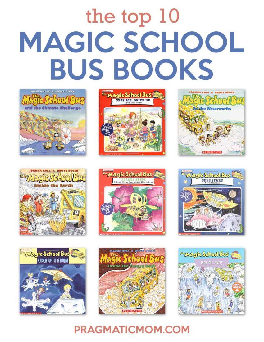 Best Magic School Bus Books