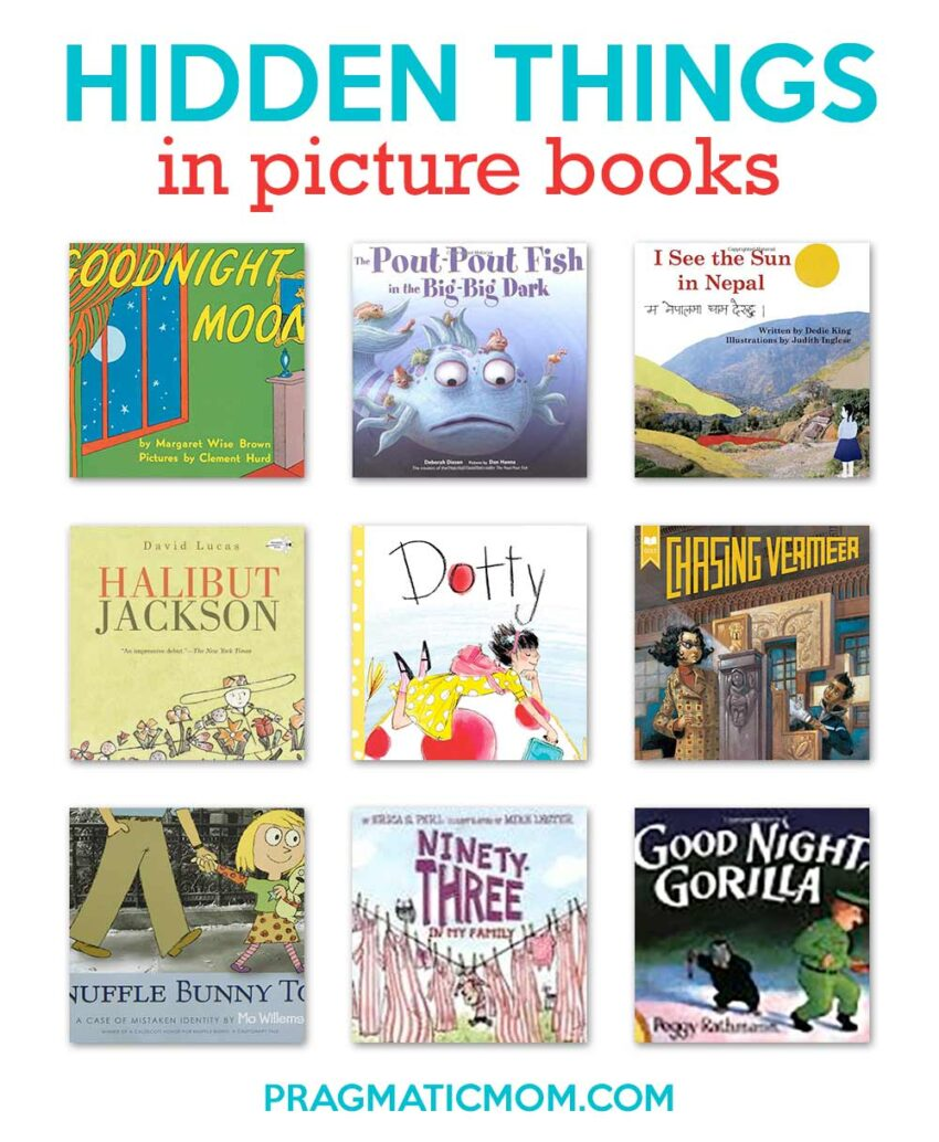 Secret Hidden Things in Picture Books
