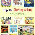 Top 10: Starting School Books