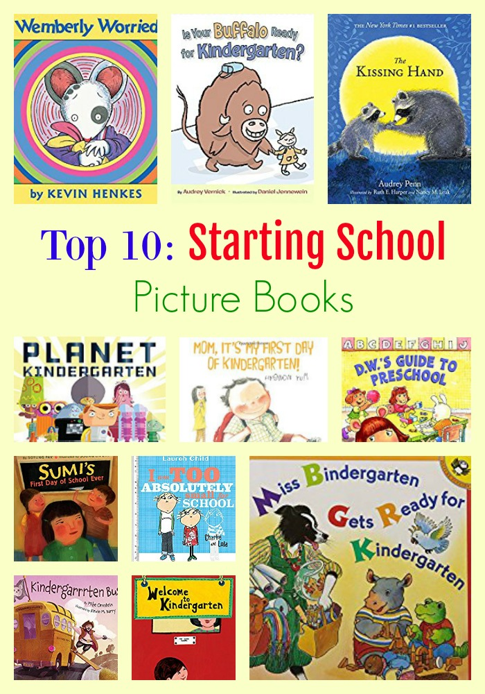 Top 10: Starting School Books