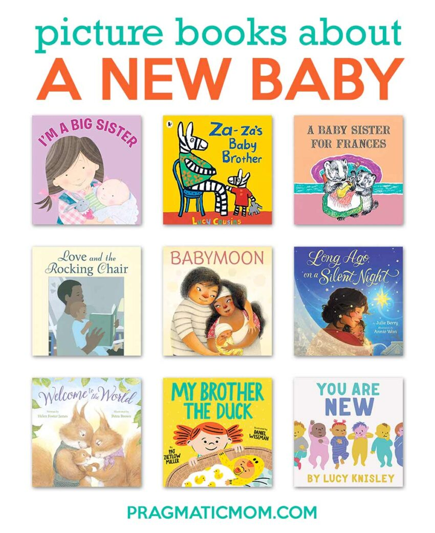 Best New Baby Picture Books for Siblings