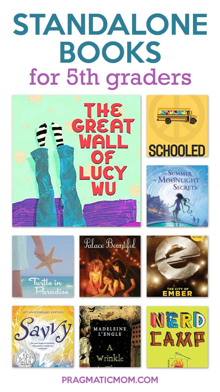 Best Standalone Books for 5th Graders