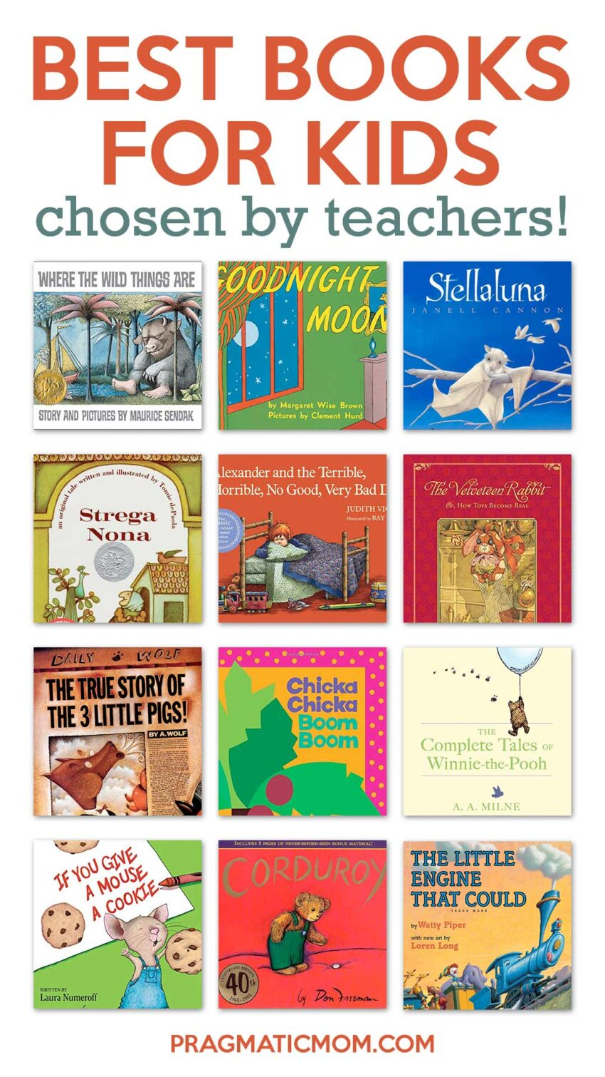 Best Books for Kids by Teachers