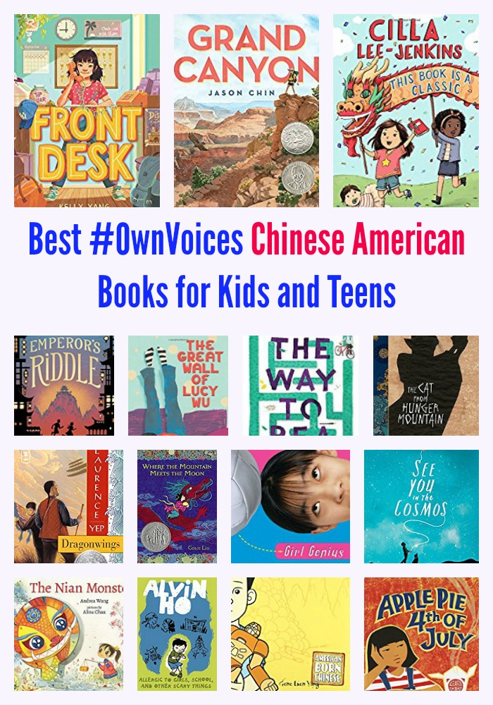 Best Own Voices Chinese American Books for Kids and Teens
