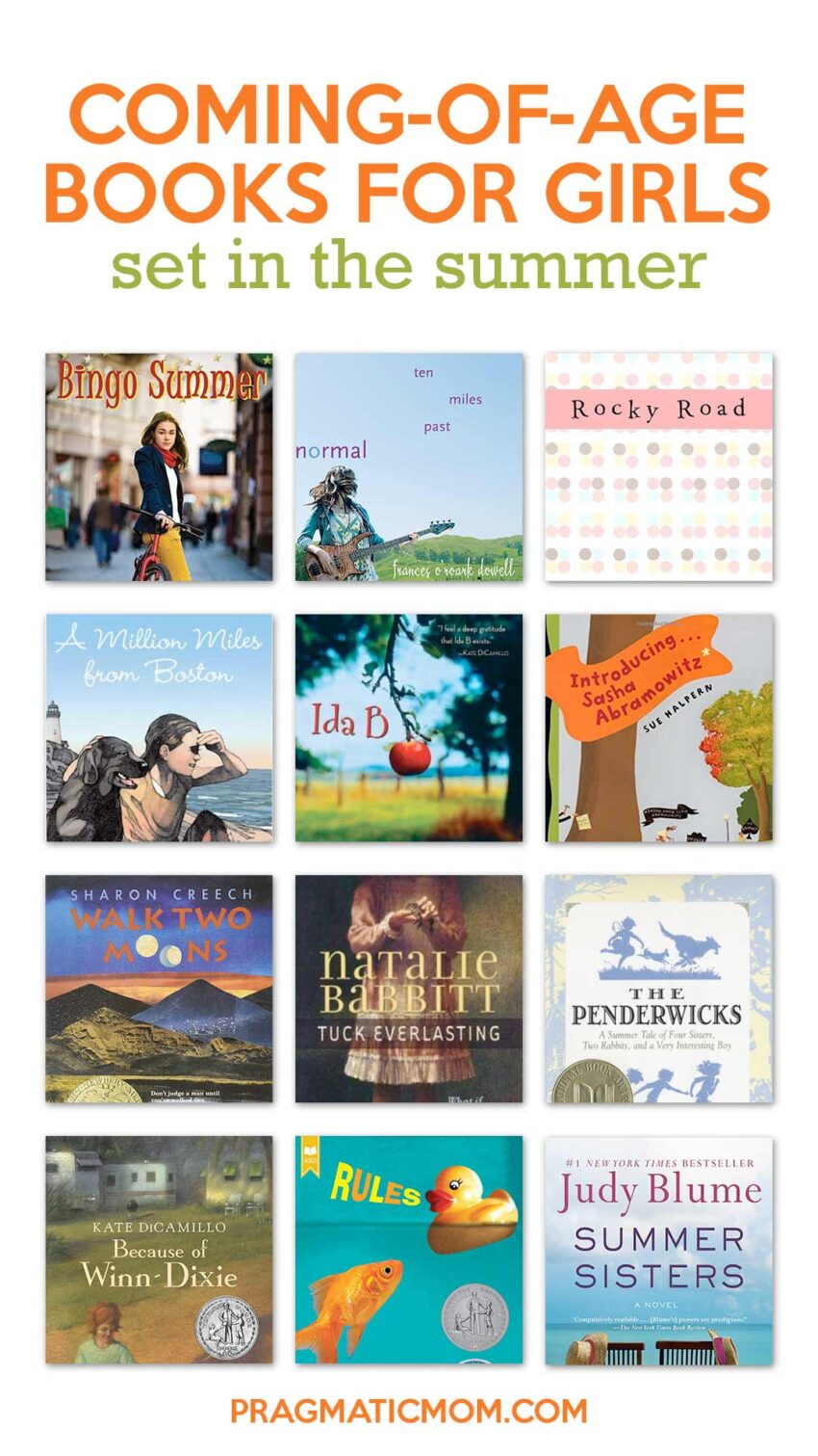 Best Summer Coming-of-Age Books for Girls