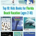 Top 10: Kids Books for Florida Beach Vacation (ages 2-18)