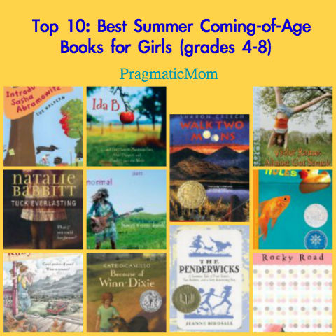 chapter books for girls, coming of age books for girls,